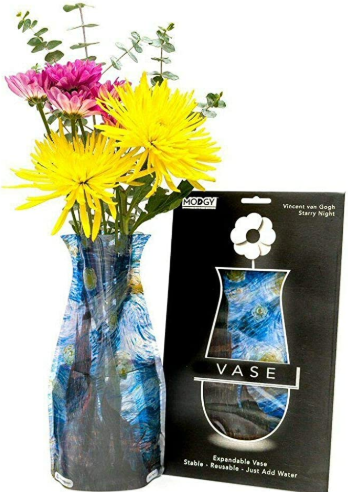Modgy Expandable Flower Vase (Starry Night)