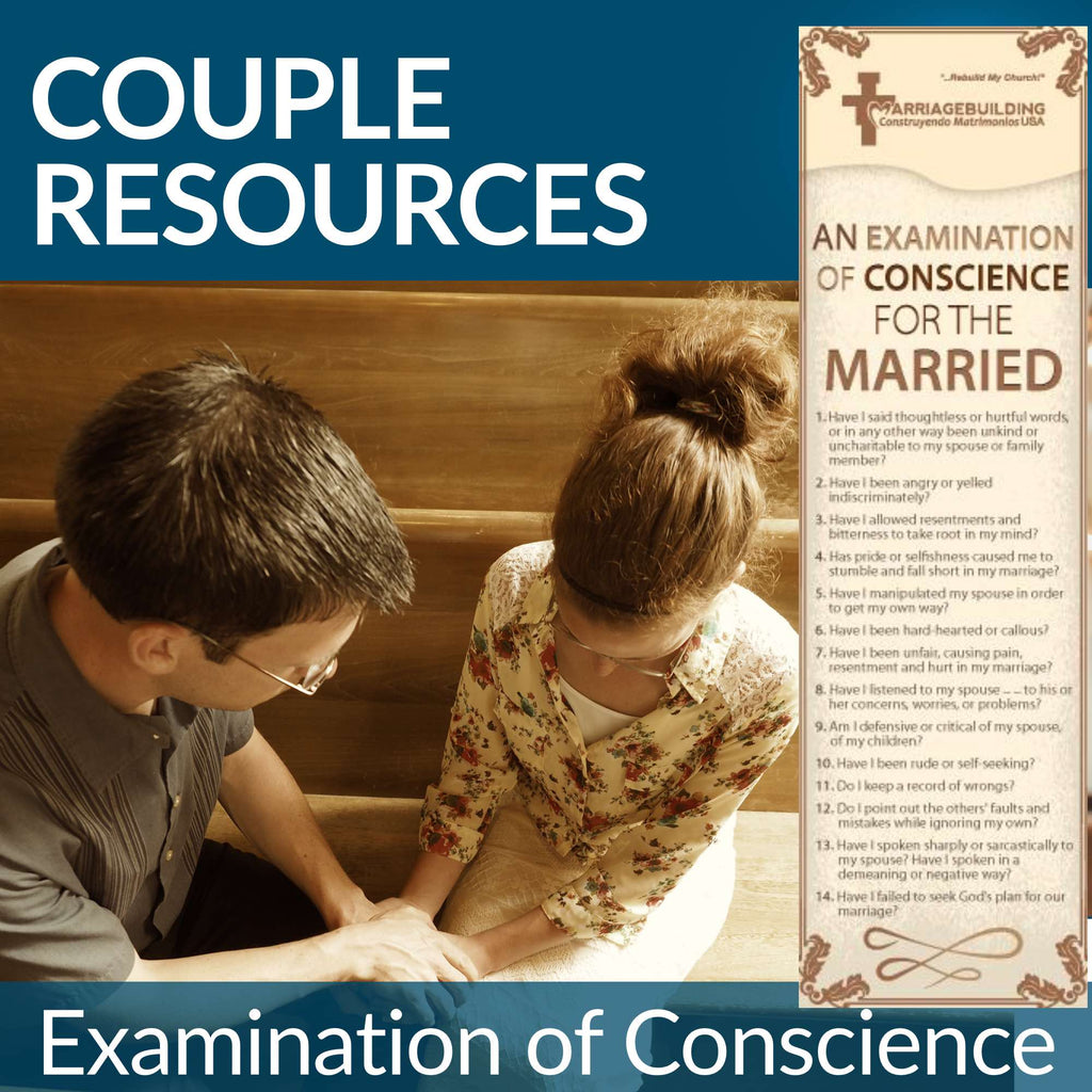Couple Resources - Examination of Conscience