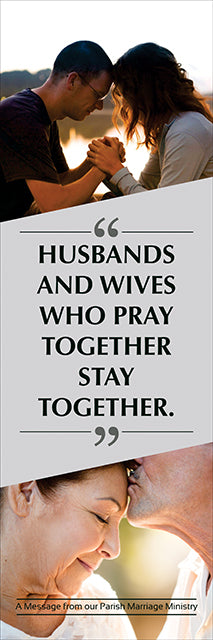 Banner - HUSBANDS AND WIVES WHO PRAY...