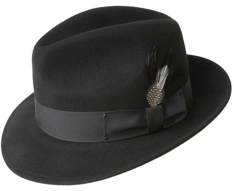 Bailey Blixen Black Fedora Hat