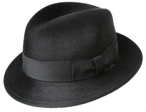 Bailey Riff Black Fedora Hat