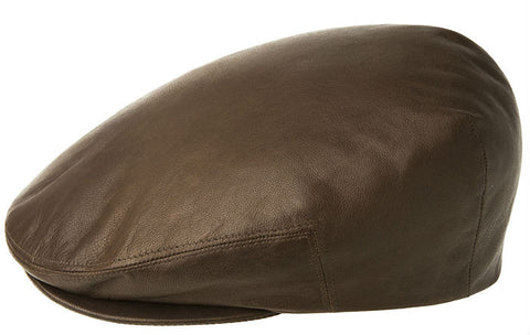 Kangol Leather Ivy Cap Tobacco