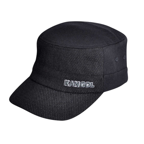 Kangol Textured Wool Army Cap