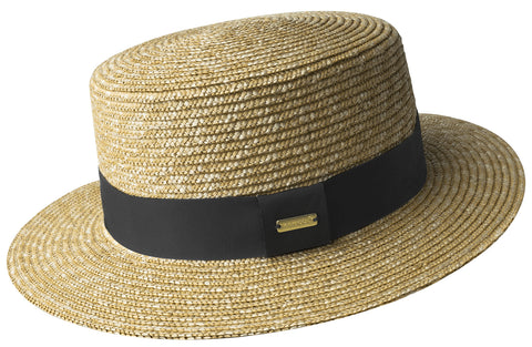 Kangol Wheat Braid Boater