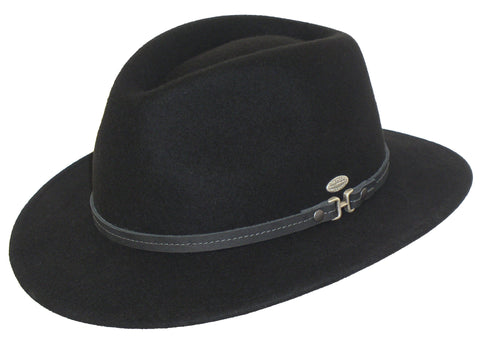 Mayser Mathis Black Safari Hat