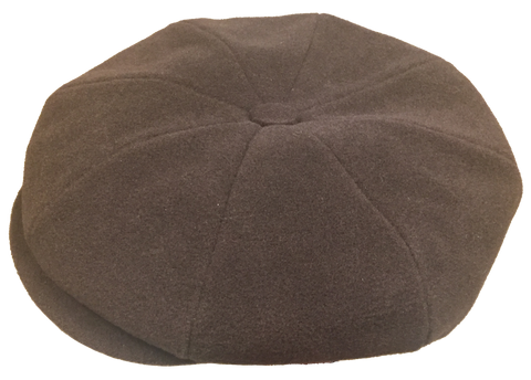 Wool Melton 8/4 Brown Cap