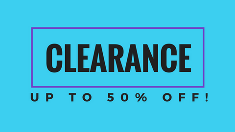 Clearance! Up to 50% Off!
