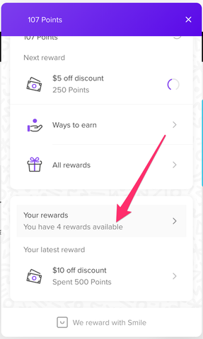 Your Rewards