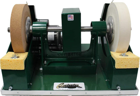 "10"" Cork and Felt Glass Polisher-The Glass Underground"