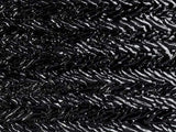 Black Granite Herringbone Ripple (100-HR70) 3mm - The Glass Underground