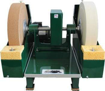 "16"" Cork and Felt Glass Polisher-The Glass Underground"