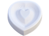 Fluted Heart Mold
