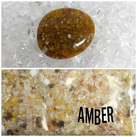 Amber Frit Mix-5 oz.-The Glass Underground