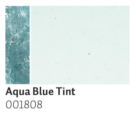 Aqua Blue Tint Transparent Frit (1808)-5 lbs.-Coarse-The Glass Underground