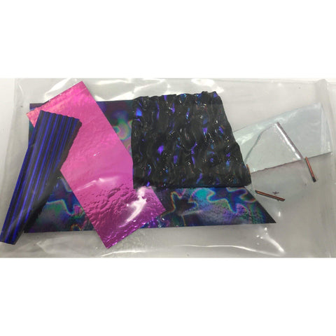 Assorted Dichroic Scrap Pack - 3 oz.-The Glass Underground