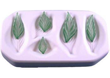 Assorted Small Leaves Casting Mold