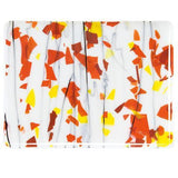Autumn: Orange, Yellow and Red on White (4011) Full Sheet Glass-The Glass Underground