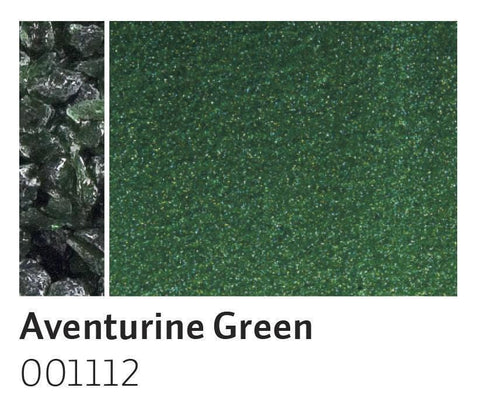 Aventurine Green Transparent Frit (1112)-5 lbs.-Coarse-The Glass Underground