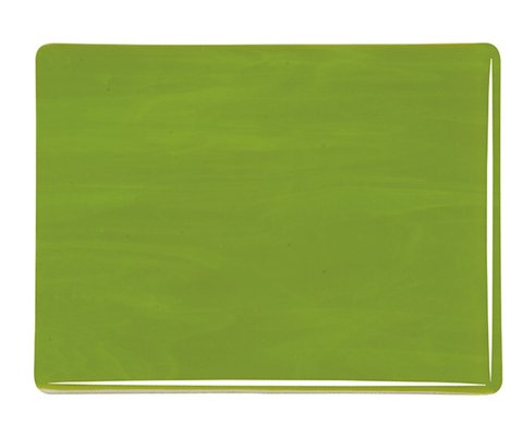 Avocado Green Opal (222) 3mm-1/2 Sheet-The Glass Underground