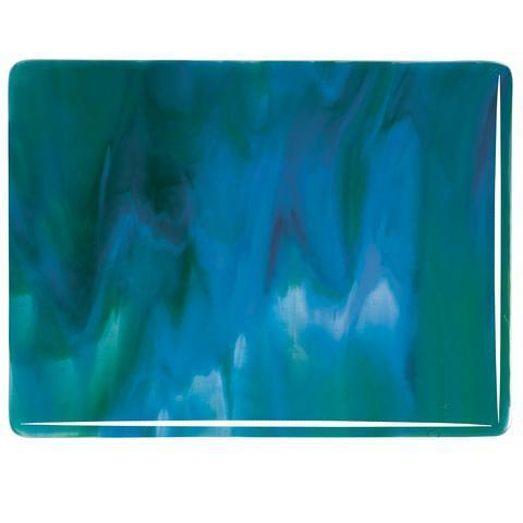Azure Blue Opal, Jade Green Opal, Neo-Lavender Streaky (3045) Full Sheet Glass-The Glass Underground