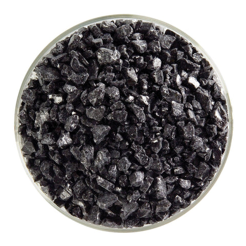 Black Opal Frit (100)-5 lbs.-Coarse-The Glass Underground
