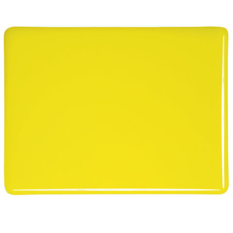 Canary Yellow Opal (120) 2mm-1/2 Sheet-The Glass Underground