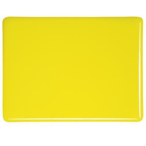Canary Yellow Opal (120) Full Sheet Glass-The Glass Underground