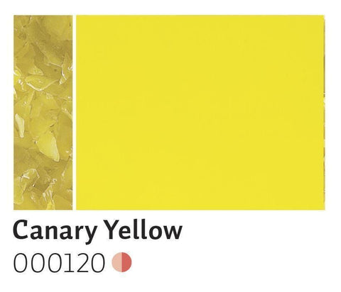 Canary Yellow Opal Frit (120)-5 lbs.-Coarse-The Glass Underground