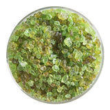 Chartreuse Transparent Frit (1126)-5 lbs.-Coarse-The Glass Underground