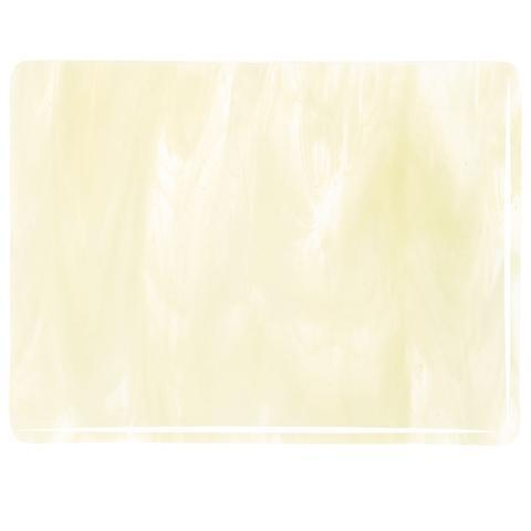 Clear, French Vanilla Opal Streaky (2037) Full Sheet Glass-The Glass Underground