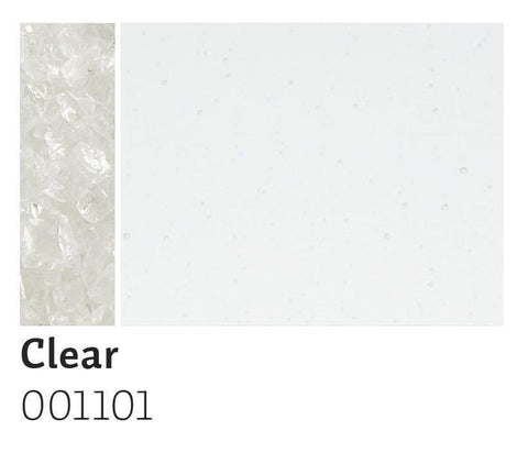 Clear Transparent Frit (1101)-5 lbs.-Extra Large-The Glass Underground