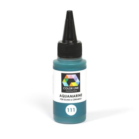 Color Line Paints 2.2 oz.-Aquamarine-The Glass Underground