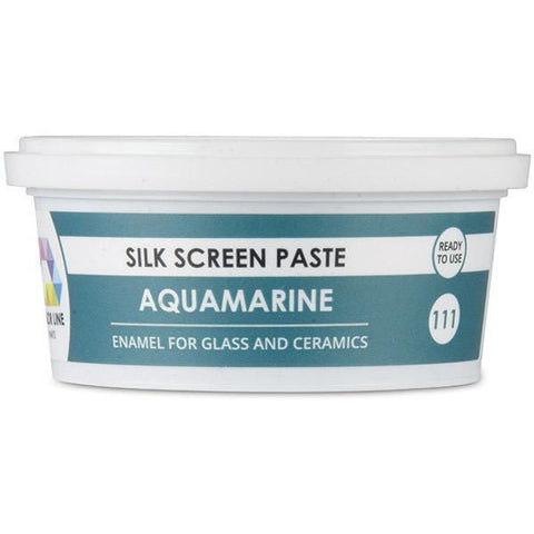 Color Line Silk Screen Paste-Aquamarine-The Glass Underground
