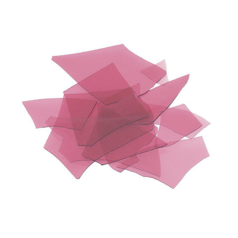 Cranberry Pink Transparent (1311) Confetti-4 oz-The Glass Underground