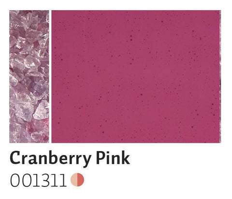Cranberry Pink Transparent Frit (1311)-5 lbs.-Coarse-The Glass Underground