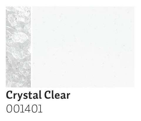 Crystal Clear Transparent Frit (1401)-5 lbs.-Coarse-The Glass Underground