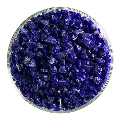 Deep Cobalt Blue Opal Frit (147)-The Glass Underground
