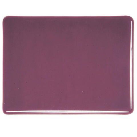 Deep Plum Transparent (1105) 2mm-1/2 Sheet-The Glass Underground