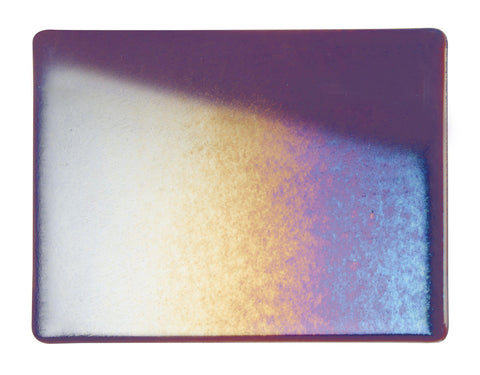 Deep Plum Transparent Irid (1105-31) 3mm-1/2 Sheet-The Glass Underground