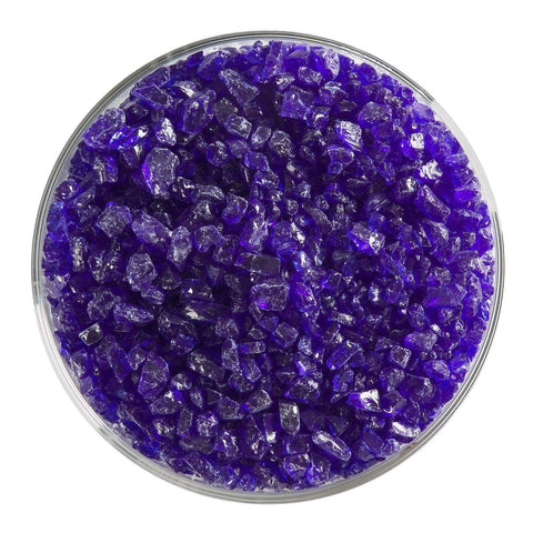 Deep Royal Blue Transparent Frit (1114)-5 lbs.-Coarse-The Glass Underground