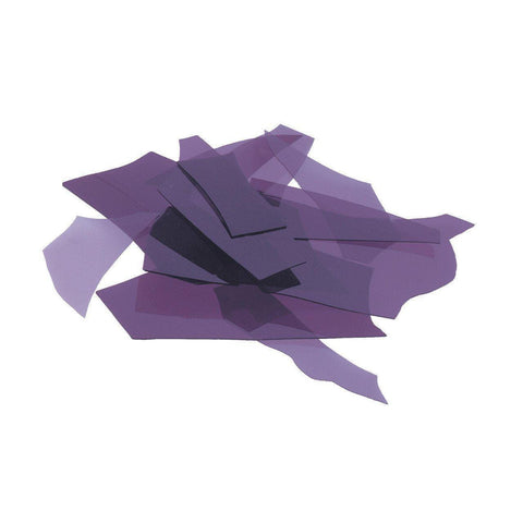 Deep Royal Purple Transparent (1128) Confetti-4 oz-The Glass Underground