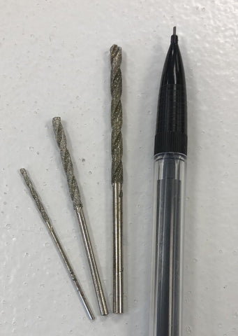 Diamond Coated Twist Drills