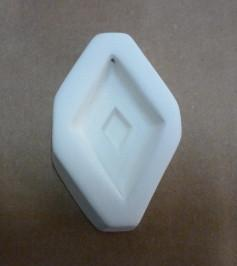 Double Diamond Casting Mold-Default-The Glass Underground