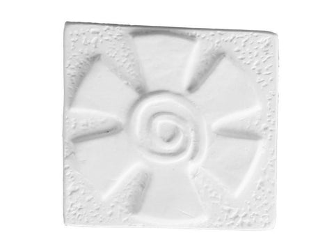 Embossed Flower Tile-Default-The Glass Underground