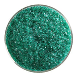 Emerald Green Transparent Frit (1417)-5 lbs.-Medium-The Glass Underground