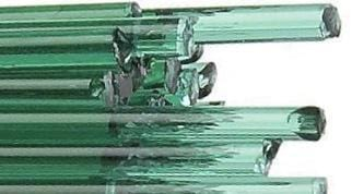 Emerald Green Transparent Stringers (1417)