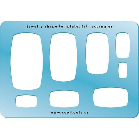 Fat Rectangles Shape Template-The Glass Underground