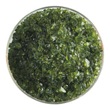Fern Green Transparent Frit (1207)-5 lbs.-Coarse-The Glass Underground