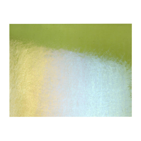 Fern Green Transparent Irid (1207-51) 2mm-1/2 Sheet-The Glass Underground