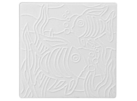 Fish Texture Tile - The Glass Underground